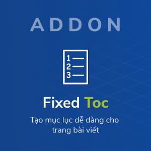 Fixed Toc Thumb